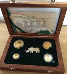 Natura 2009 White Rhino Exclusive Set, 1,85 Gold